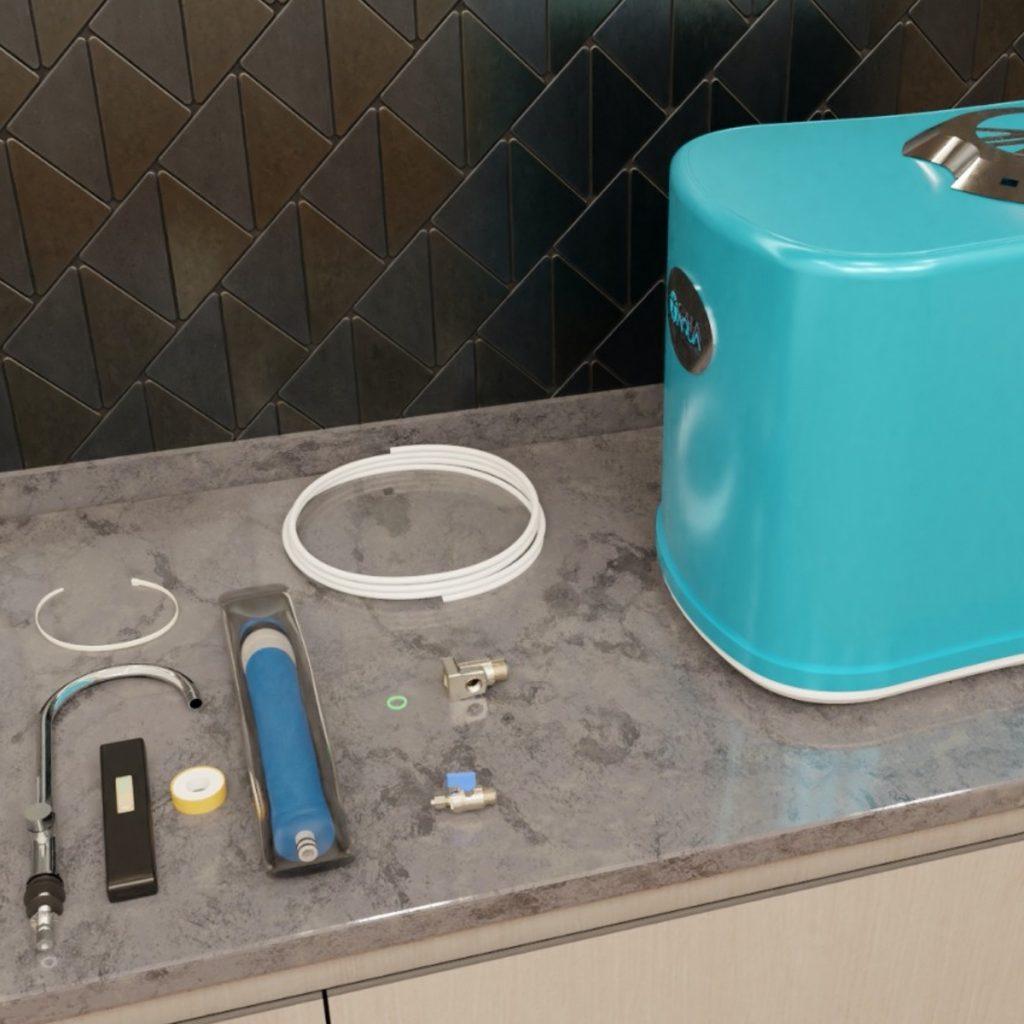 GAIA-AQUA-Wasseraufbereitung-Videodetail Installation